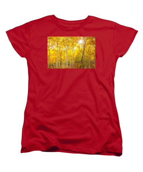 Aspen Morning Women's T-Shirt (Standard Cut)