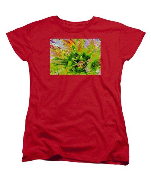 Aspidistral Butterfly Women's T-Shirt (Standard Cut) by Stephanie Grant