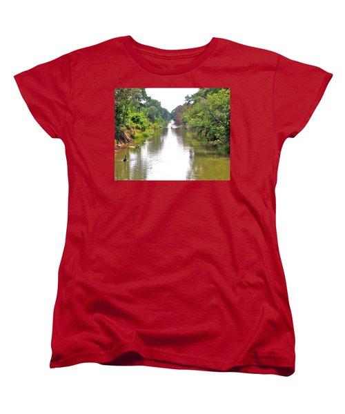 Assawoman Canal - Delaware Women's T-Shirt (Standard Cut)
