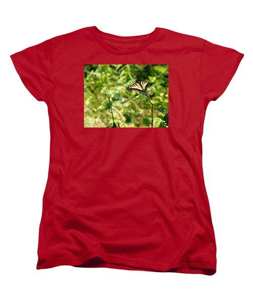 At Rest Women's T-Shirt (Standard Cut) by Meghan at FireBonnet Art