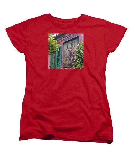 Au Lapin Agile Women's T-Shirt (Standard Cut) by Alan Toepfer