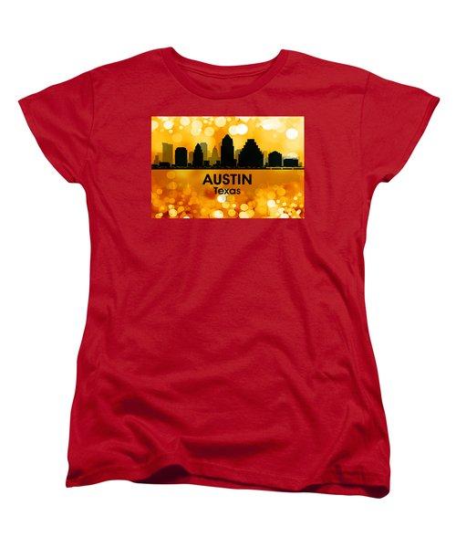 Austin Tx 3 Women's T-Shirt (Standard Cut) by Angelina Vick