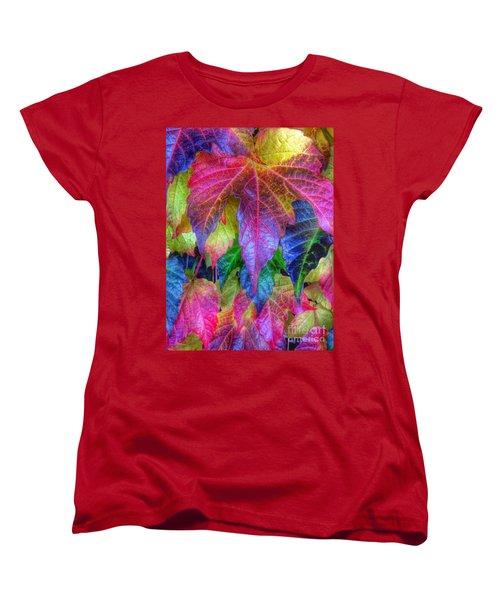 Autumn Bold Women's T-Shirt (Standard Cut) by Susan Garren