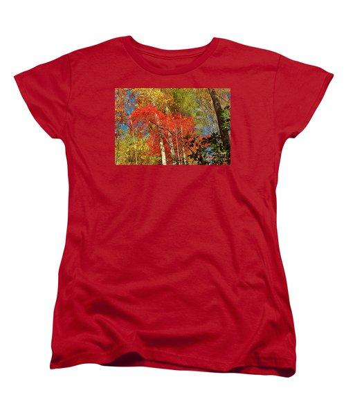 Women's T-Shirt (Standard Cut) featuring the photograph Autumn Colors by Patrick Shupert