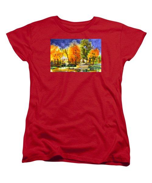 Autumn Gold 2 Women's T-Shirt (Standard Cut) by Kip DeVore