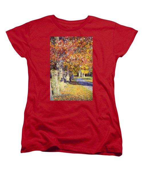 Autumn In Hyde Park Women's T-Shirt (Standard Cut)