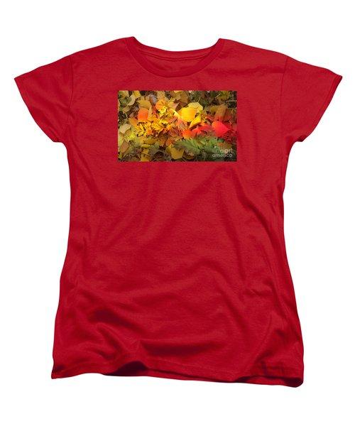 Autumn Masquerade Women's T-Shirt (Standard Cut) by Martin Howard