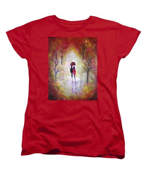 Autumn Romance Women's T-Shirt (Standard Cut)