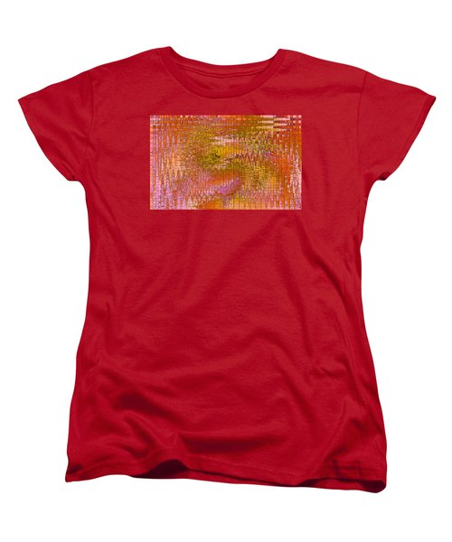 Women's T-Shirt (Standard Cut) featuring the digital art Autumn by Stephanie Grant
