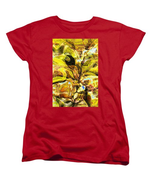 Autumn's Bones Women's T-Shirt (Standard Cut) by Richard Thomas