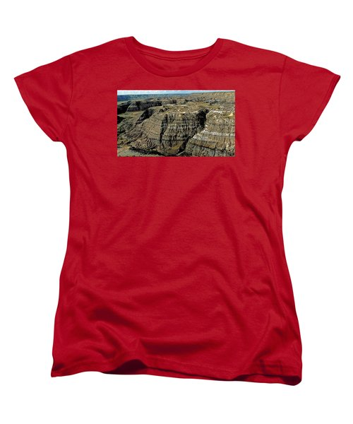 Badlands Women's T-Shirt (Standard Cut) by Terry Reynoldson