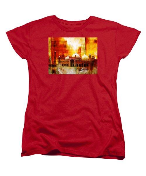 Badshahi Mosque Or The Royal Mosque Women's T-Shirt (Standard Cut) by Catf