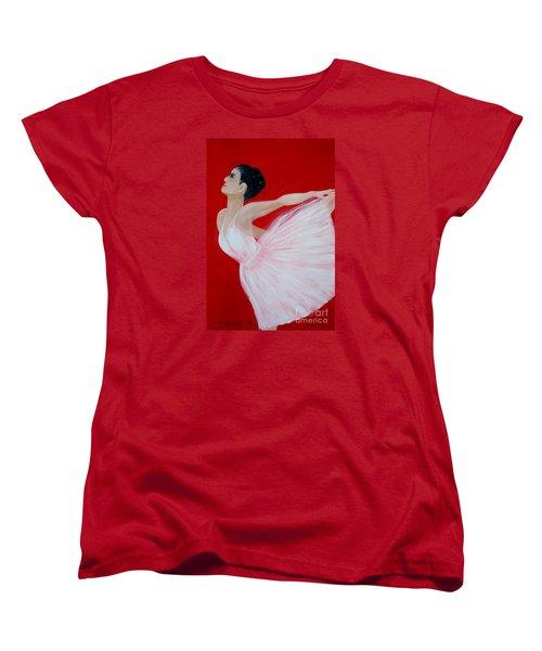 Ballerina.  Grace. Inspirations Collection Women's T-Shirt (Standard Cut)