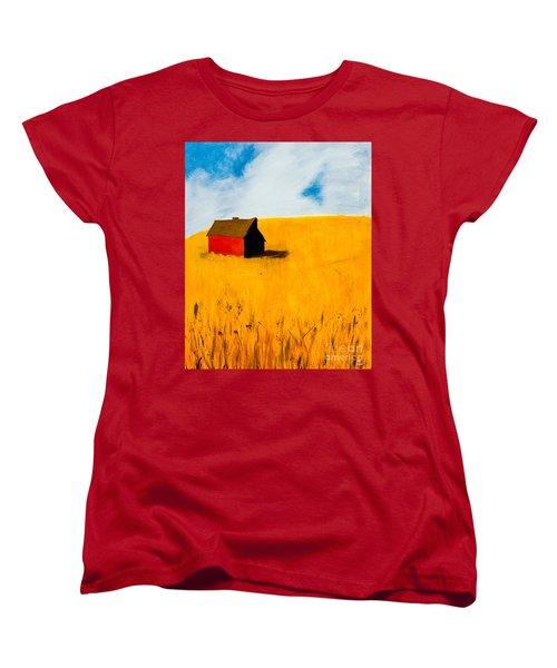 Barn Women's T-Shirt (Standard Cut) by Stefanie Forck
