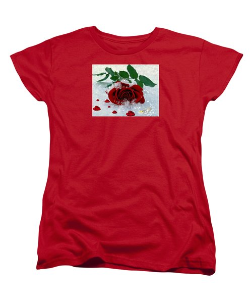 Be Mine Women's T-Shirt (Standard Cut) by Morag Bates
