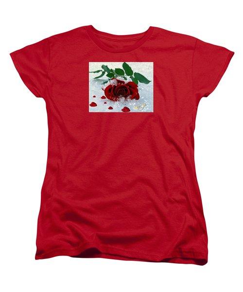 Be Mine Women's T-Shirt (Standard Cut) by Morag Bates