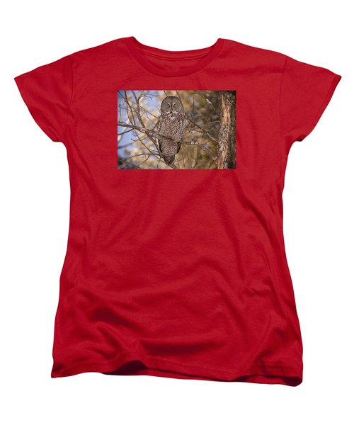 Being Observed Women's T-Shirt (Standard Cut) by Eunice Gibb