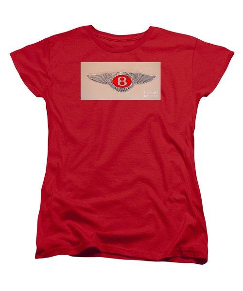 Bentley Emblem Women's T-Shirt (Standard Cut) by Pamela Walrath