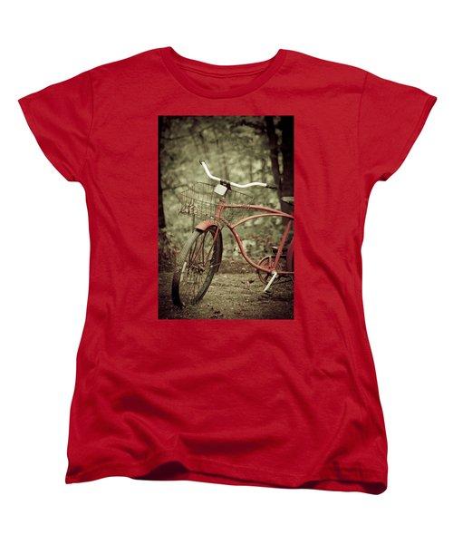 Bike Women's T-Shirt (Standard Cut) by Shane Holsclaw