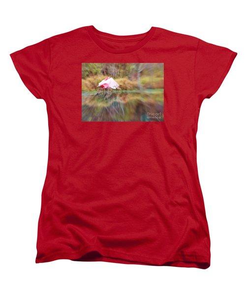 Birds Eye View Women's T-Shirt (Standard Cut) by Carol Groenen