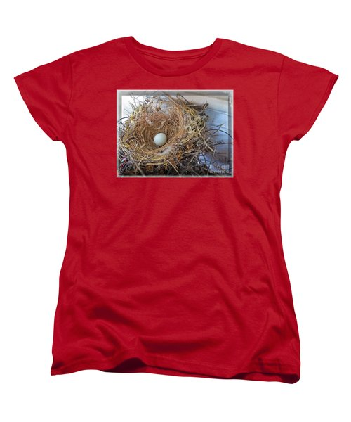 Birds Nest - Perfect Home Women's T-Shirt (Standard Cut) by Ella Kaye Dickey