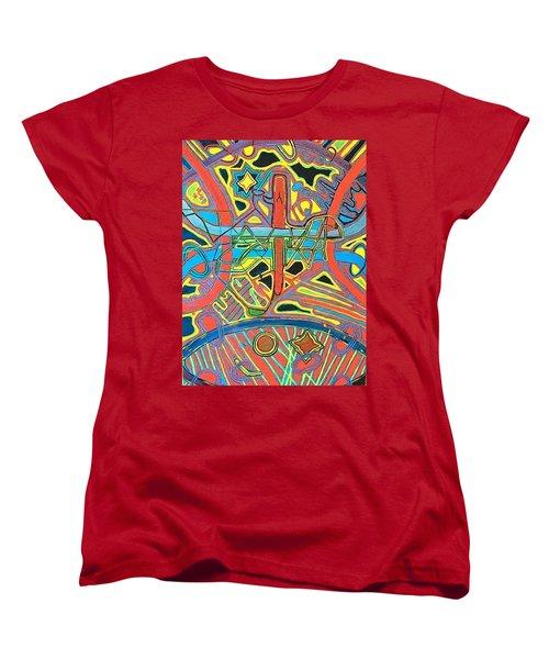 Blueberry Eclipse Women's T-Shirt (Standard Cut) by Jonathon Hansen