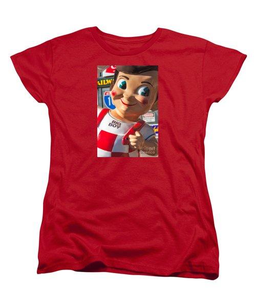 Bob's Big Boy Women's T-Shirt (Standard Cut) by Jerry Fornarotto