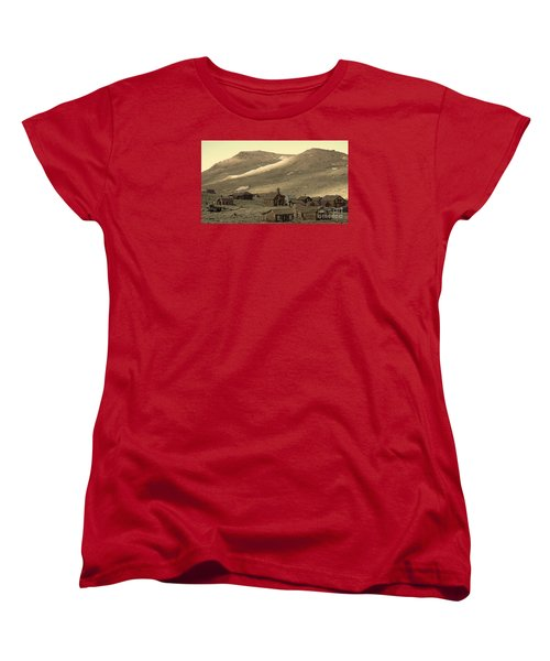 Women's T-Shirt (Standard Cut) featuring the photograph Bodie California by Nick  Boren