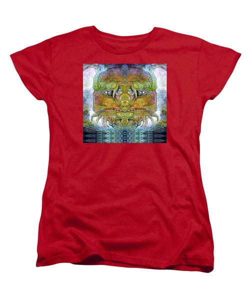 Women's T-Shirt (Standard Cut) featuring the digital art Bogomil Variation 11 by Otto Rapp
