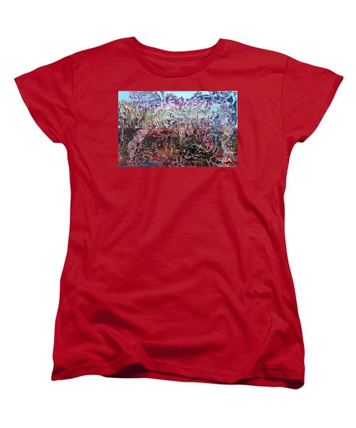 Women's T-Shirt (Standard Cut) featuring the painting Bogomils Vegetable Garden  by Otto Rapp