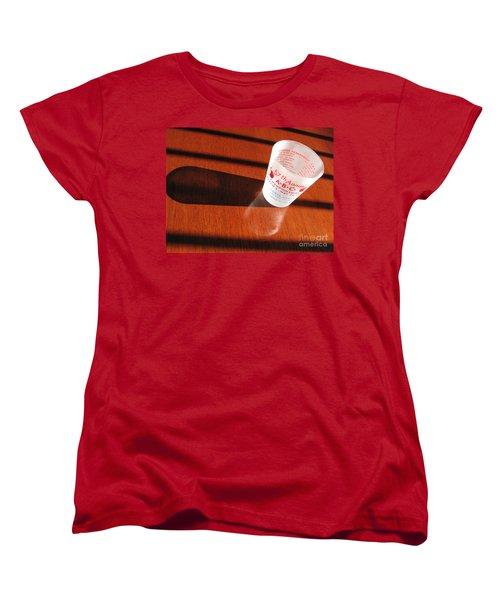 Women's T-Shirt (Standard Cut) featuring the photograph Bowling History by Michael Krek