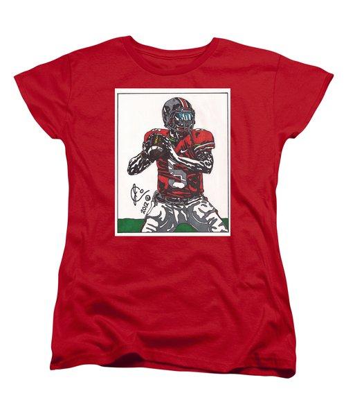 Braxton Miller 1 Women's T-Shirt (Standard Cut) by Jeremiah Colley
