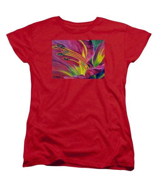 Brilliance Within Women's T-Shirt (Standard Cut) by Marilyn  McNish