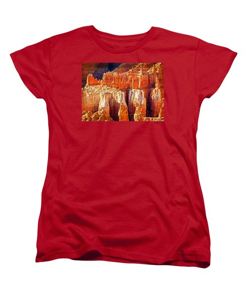 Women's T-Shirt (Standard Cut) featuring the photograph Brilliant Bryce by Marty Koch