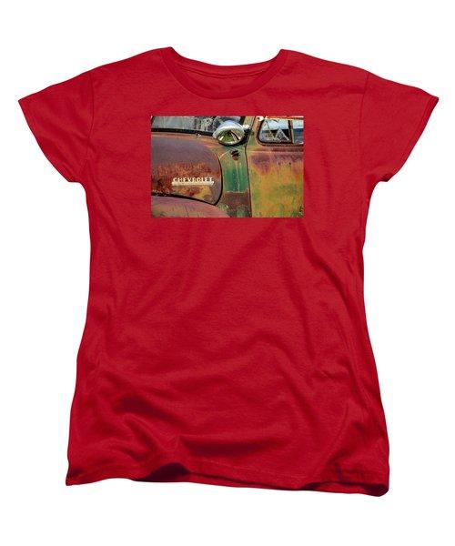 Women's T-Shirt (Standard Cut) featuring the photograph Broken Dreams by Steven Bateson