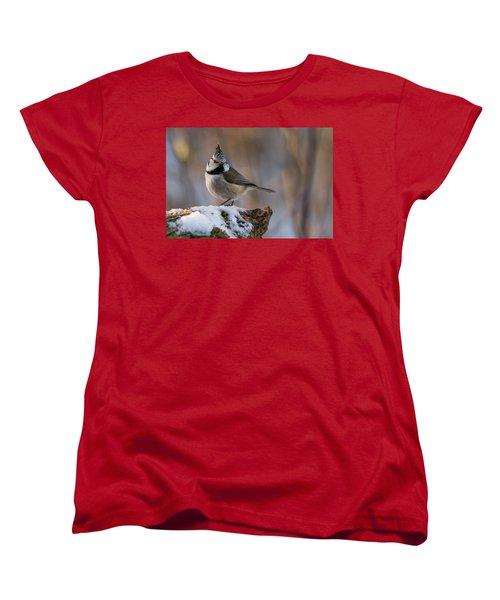 Brown Eyed Girl Women's T-Shirt (Standard Cut) by Torbjorn Swenelius