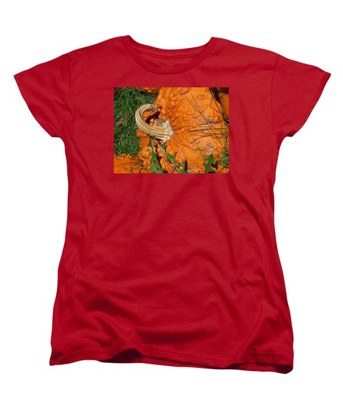 Women's T-Shirt (Standard Cut) featuring the photograph Bumpy And Beautiful by Caryl J Bohn