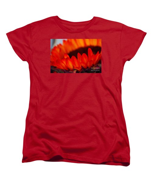 Women's T-Shirt (Standard Cut) featuring the photograph Burning Ring Of Fire 2 by John S