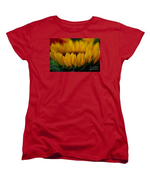 Women's T-Shirt (Standard Cut) featuring the photograph Burning Ring Of Fire by John S