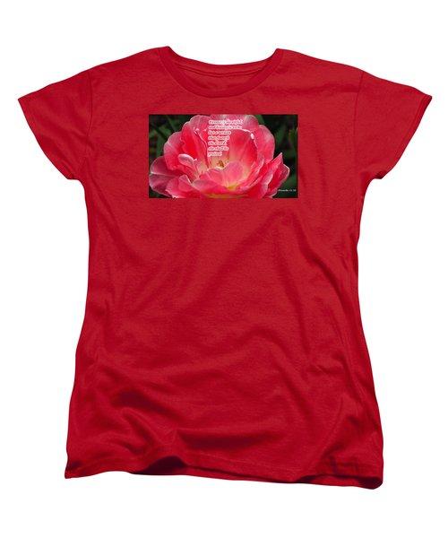 But A Woman Women's T-Shirt (Standard Cut)