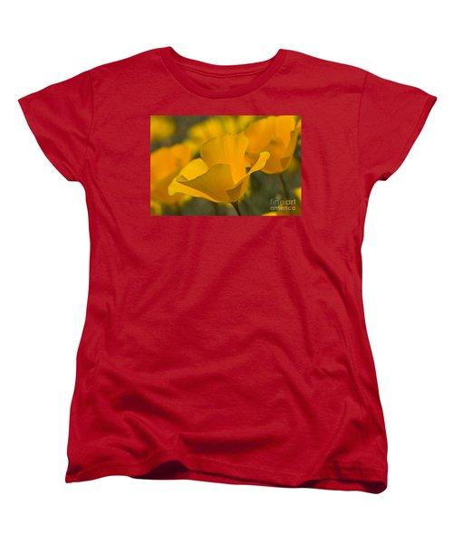California Poppies Women's T-Shirt (Standard Cut)