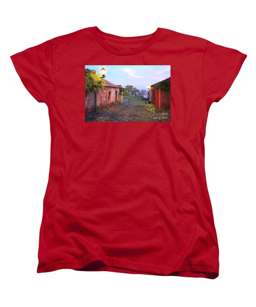 Women's T-Shirt (Standard Cut) featuring the photograph Calle De Los Suspiros by Bernardo Galmarini