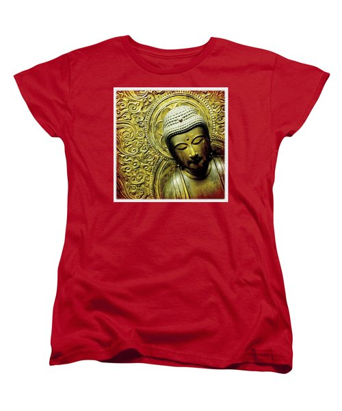 Women's T-Shirt (Standard Cut) featuring the photograph Calm by Bradley R Youngberg