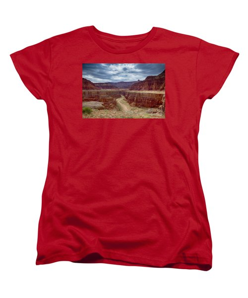 Canyonlands Women's T-Shirt (Standard Cut) by Juergen Klust