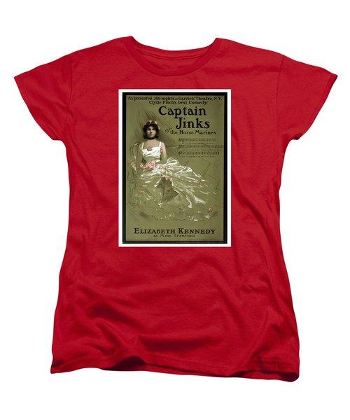 Captain Jinks Women's T-Shirt (Standard Cut) by Terry Reynoldson