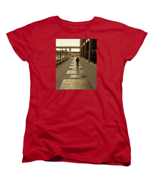 Cardinals' Walk Of Fame Women's T-Shirt (Standard Cut) by Jane Eleanor Nicholas