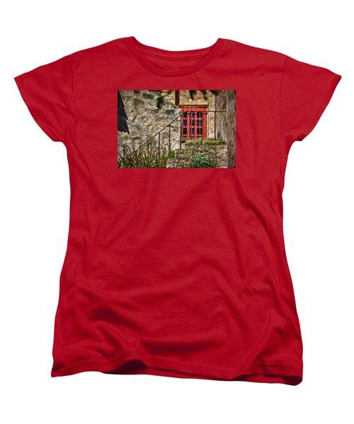 Carmel Mission 10 Women's T-Shirt (Standard Cut) by Ron White