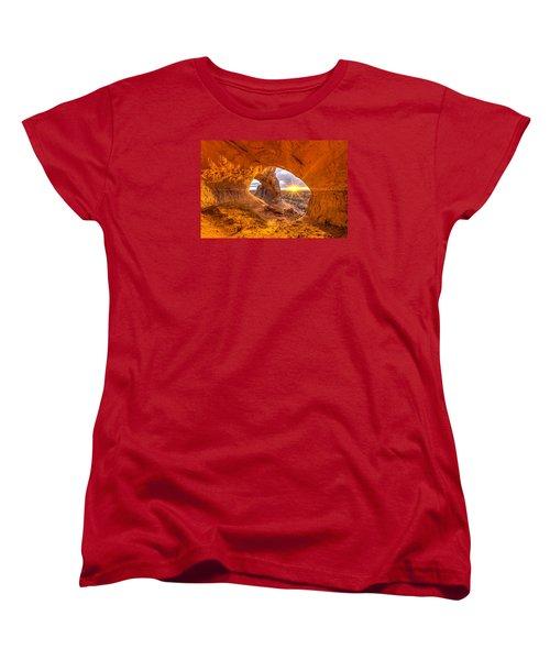 Cave Arch Women's T-Shirt (Standard Cut) by Dustin  LeFevre