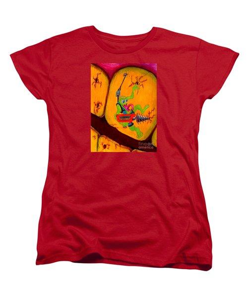 Cavity Creep Women's T-Shirt (Standard Cut) by Justin Moore