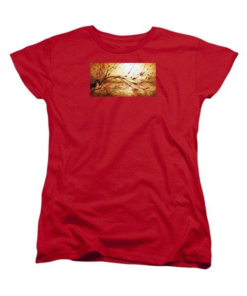 Cerezo Iv Women's T-Shirt (Standard Cut) by Angel Ortiz